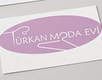 Türkan Fashion House Logo Design