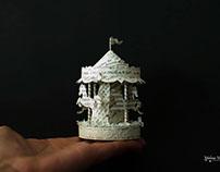 Miniature Paper Carousel