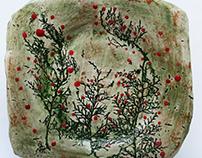 CERAMIC ART PLATES