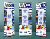 AV Bluebook Wall Banner
