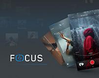 Focus - Camera PSD UI Kit