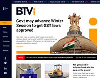 BTVi Website Design Mockup Art Direction | UI | UX