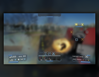 Defense Warfare UI Design, HUD & Icons