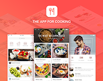The app for cooking