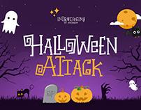 Halloween Attack Font