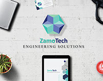 Zamo Tech- Branding and Stationary