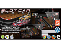 HTML5 Game: Slot Car Racing