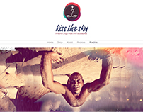 Website Design: Kiss The Sky