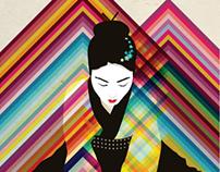 Markow & Norris Kimonos Exhibition Posters