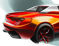Carsketches_#4