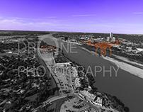Aerial River Views