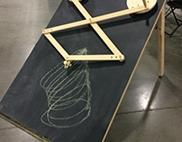Chalk Drawing Machine