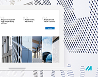 Reconal - corporate website design
