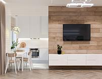 INTERIOR DESIGN of private apartments in Kharkov