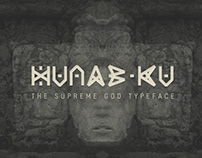 Hunab-Ku Typeface (Free Download)