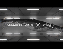 Showreel 2018 of Ming