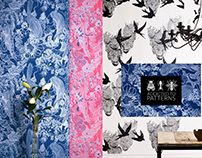CORALS wallpapers for Addicted to Patterns studio