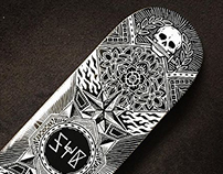 Shralp Ya Bass Skateboard