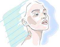 Organic Shape Portraits