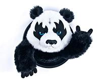 Metal Panda Trophy
