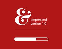 Ampersand App Design