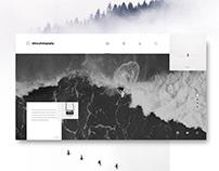 Ethos Photography Website Concept