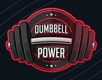 Dumbbell Power Logo