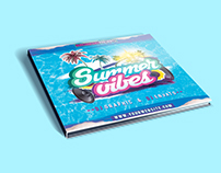 Summer Vibes CD Cover PSD Template