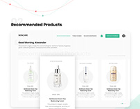 SkinCare | Website UI