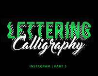 Instagram Collection - Calligraphy & Lettering 3