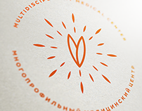 VERBA medical center branding