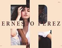 ERNESTO PEREZ | PHOTOGRAPHY WEB SITE PREVIEW