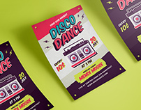 Disco Dance Flyer