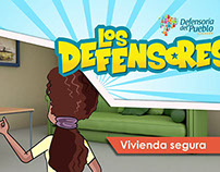 Los Defensores- Animated Short