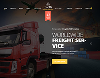 LoadMe - Logistic & Transportation Template