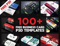 100+ Free Business Card PSD Templates