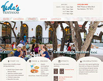 Viola's Ventanas - mexican restaurant web design & dev