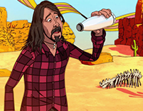 Foo Fighters 'Chasing Birds' [Music Video]