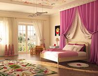 Bedroom for little princess