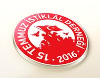 15 Temmuz İstiklâl Derneği Logo Tasarımı