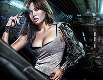 Woman robot 2095