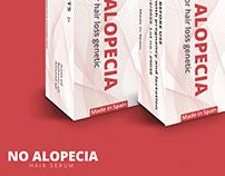 NO ALOPECIA | Packaging