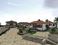 Concept Ethno Village by Martin Najdov, Saska Kalinchar