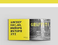 Experimental typography catalog