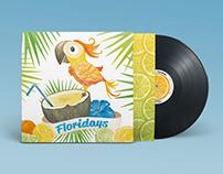 "Jimmy Buffett 12"" Vinyl Record music packaging redesign"