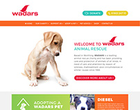 Wadars Charity Website
