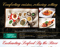 Double Ad for Peony Jade & Quayside Seafood Restaurant