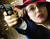Agent Caitlin TV poster