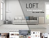 LOFT Interior Wordpress Theme