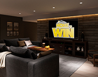 "Interior design/visualization for ""Home to win""TV show"